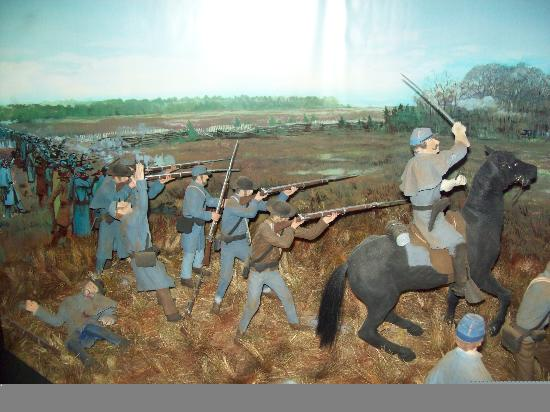 Holiday Inn Express Murfreesboro Central: Stones River Battlefield and Museum