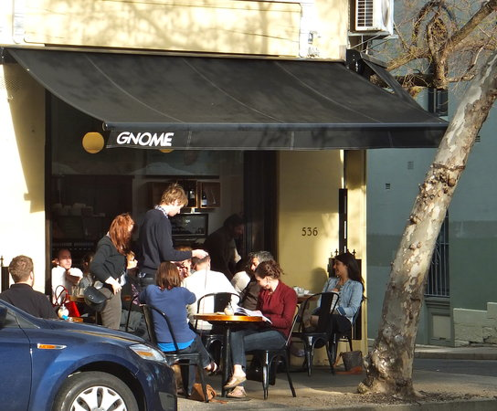 Photo of Cafe Gnome at 536 Crown St., Surry Hills, NS 2010, Australia