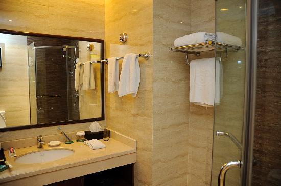 Sichuan Tennis International Hotel: Washroom