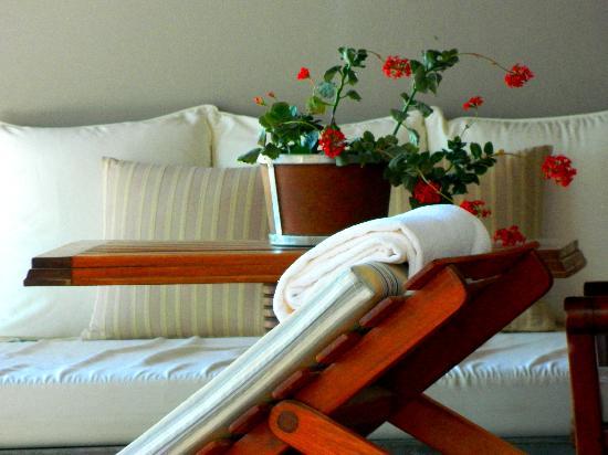 Carmelo Resort & Spa, A Hyatt Hotel: patio de la cabaña