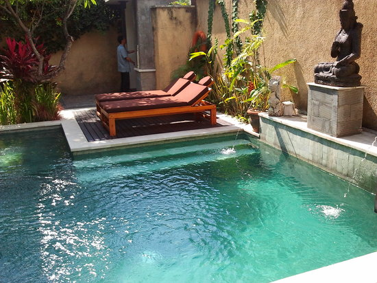 The Sanyas Suite Seminyak: pool