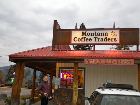 Montana Coffee Traders: Easy to find and plenty of parking