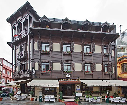 เบสท์เวสเทิร์นพรีเมียร์อะโครพอลสวีสแอ่นด์สปา: hotel exterior