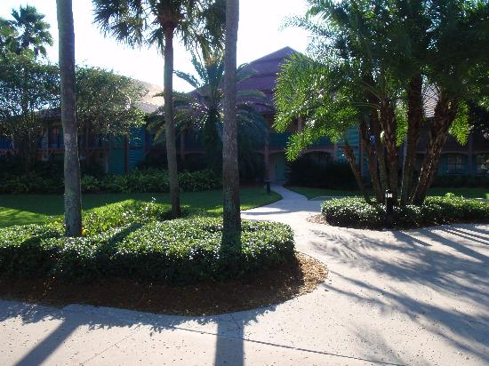 Disney's Coronado Springs Resort: Cabanas 9B exterior
