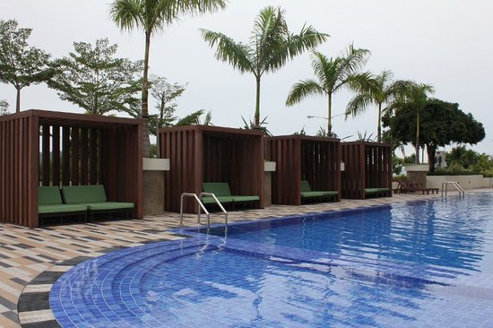 Hyatt Regency Kinabalu: nice clean pool
