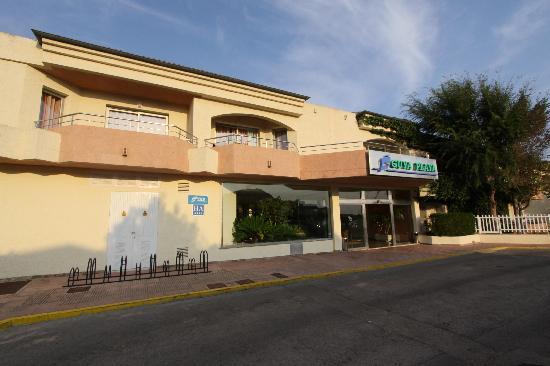 THB Guya Playa: Eingang vom Hotel