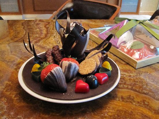 Hotel32 at Monte Carlo: One of the treats that kept arriving