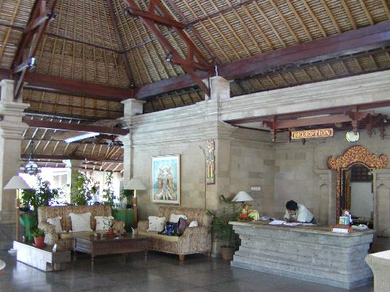 Bali Agung Village: la reception