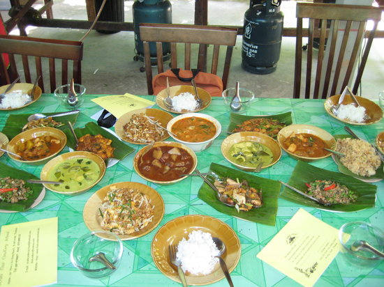 Krabi Thai Cookery School: Our dishes