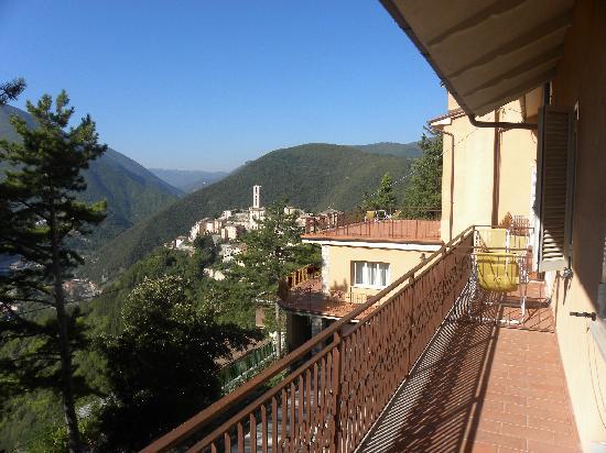 Hotel Panorama: Vista panoramica dall' albergo