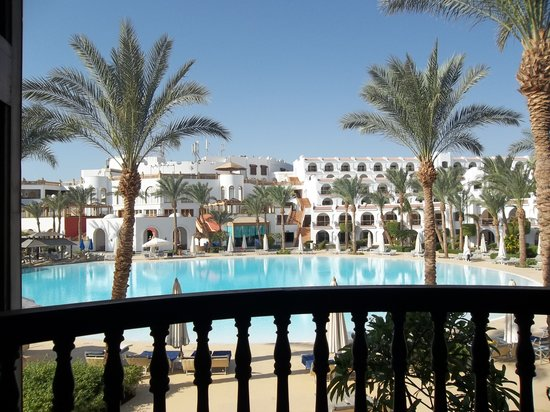 The Royal Savoy Sharm El Sheikh: from yhe balcony