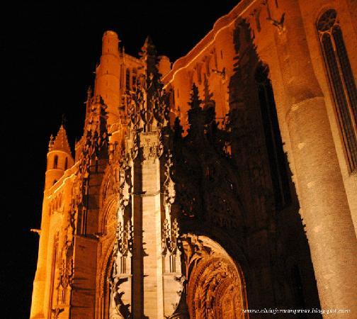 Cathedrale Sainte-Cecile: Santa Cecilia.Pórtico fachada sur