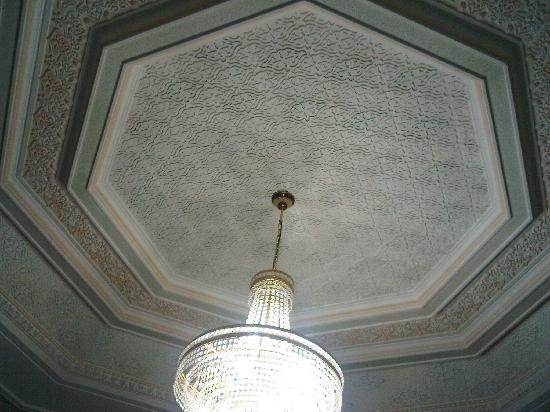 L'Espace: the ceiling in my room