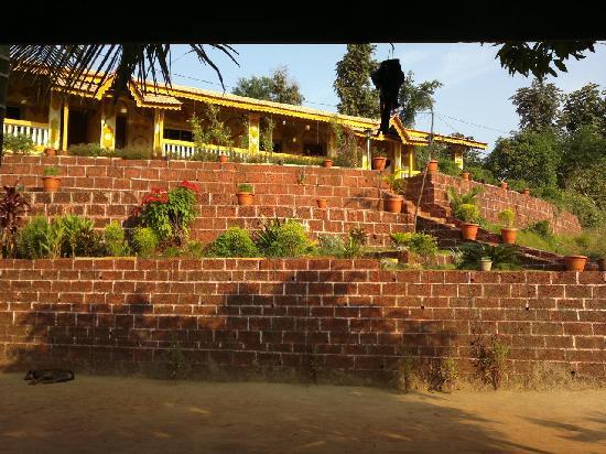 Guhagar, Indien: Hotel view