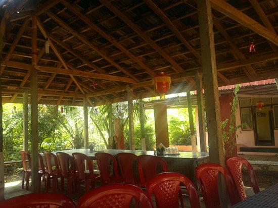 Guhagar, Indien: Cafeteria