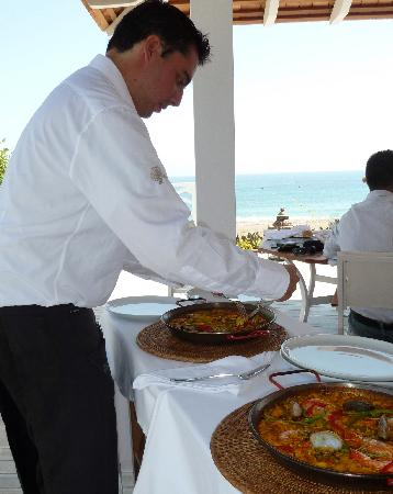 Finca Cortesin Hotel Golf & Spa: Tasty local specialities like paella