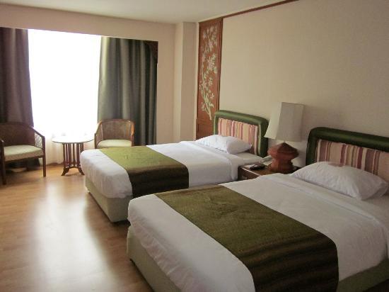 โรงแรมเชียงใหม่ ออร์คิด: ホテル室内