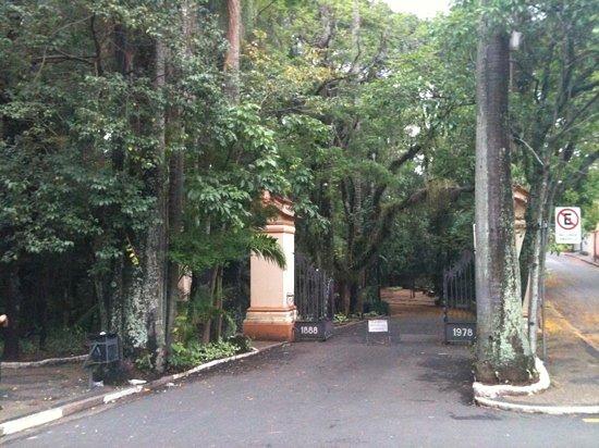 Campinas, SP: Portão de entrada