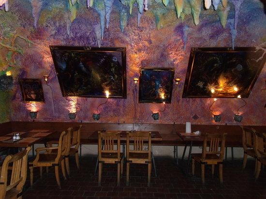 Pizzerie U Costella: The underground cavern