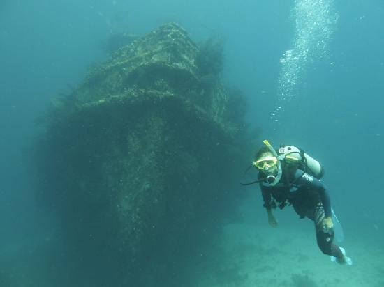 Bequia Dive Adventures: Diving on Stratman in Bequia