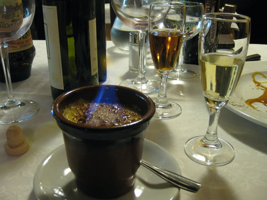 Piancastagnaio, Włochy: crema catalana