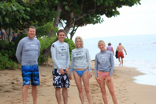 Royal Hawaiian Surf Academy: Surf group
