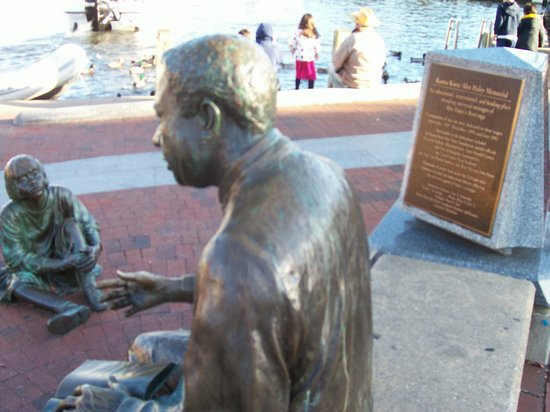 The Kunta Kinte - Alex Haley Memorial: At Water's Edge From Where He Came