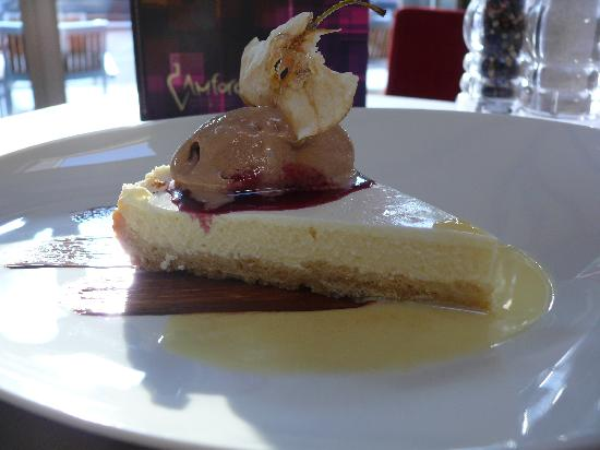 Restaurant Amfora: Cheesecake