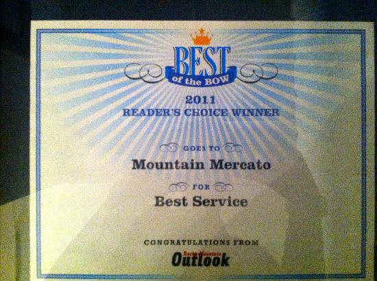 Mountain Mercato : The Best of the BOW
