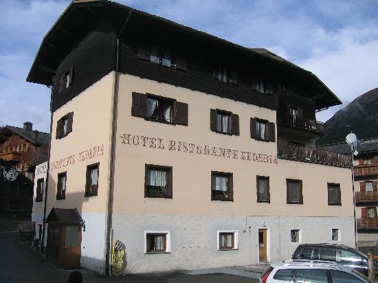 Hotel Federia: hotel e parcheggio