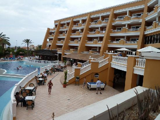 Hotel Chatur Playa Real: View from balcony of Junior Suit