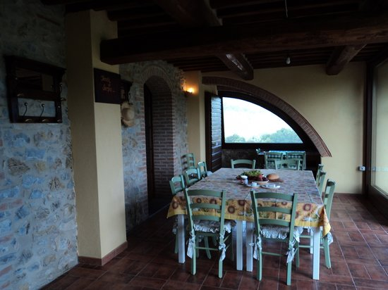 Tenuta di Seripa : The breakfast nook