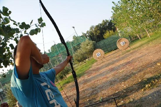 Vascellero Club Resort: tiro con l'arco