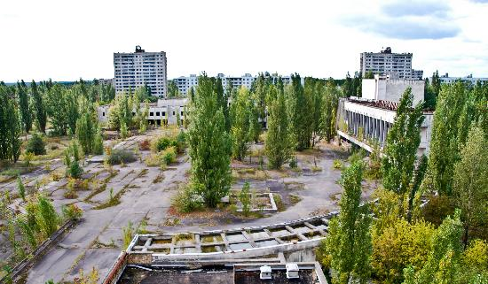 SoloEast Travel Chernobyl Day Trip: Pripyat city square