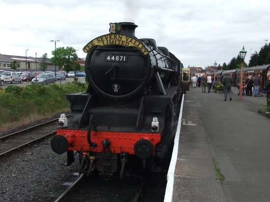 Kidderminster, UK: One of the Locos