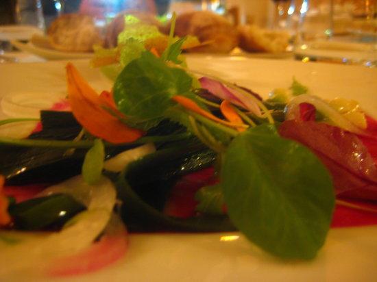 Restaurant la Falaise: Vegetarian menu