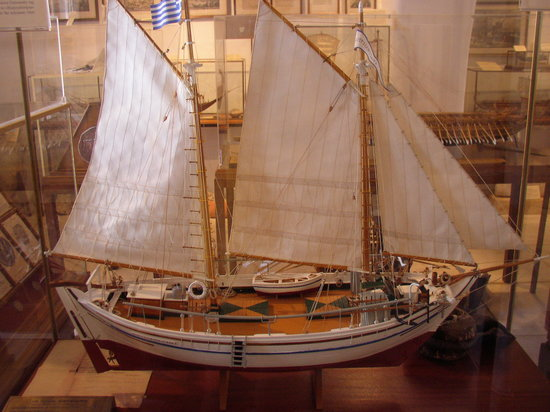 Aegean Maritime Museum : Nautical Museum of Mykonos