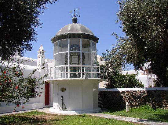 courtyard - Bild von Aegean Maritime Museum, Mykonos-Stadt ...