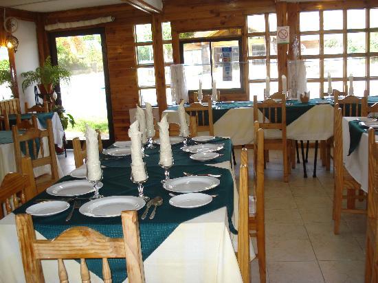 Coñaripe, Chile: comedor