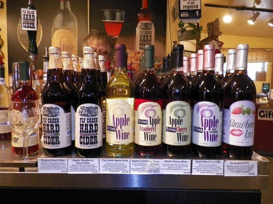 Fly Creek Cider Mill & Orchard: time for a tasting!