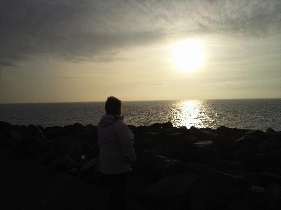 Rickwood House Hotel : Portpatrick Sunset