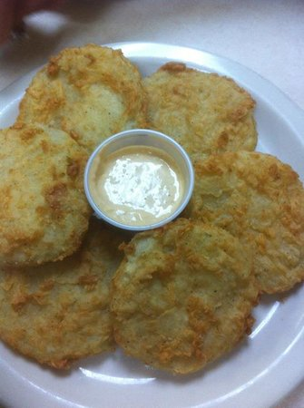 Dixie Grill & Steer Room: Fried Green Tomatoes