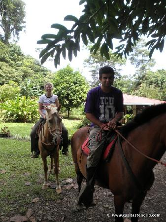 Casitas Tenorio B&B: Horseriding tour at Casitas Tenorio