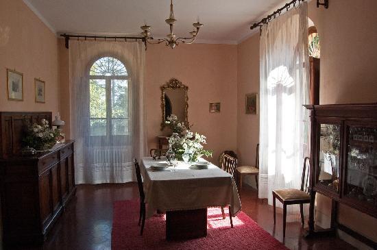 Bed and Breakfast La Lastra : Sala da pranzo