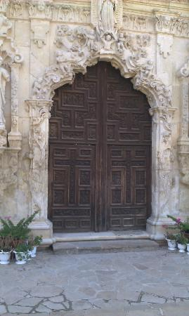 San Antonio Missions National Historical Park View of Mission Doors & View of Mission Doors - Picture of San Antonio Missions National ...
