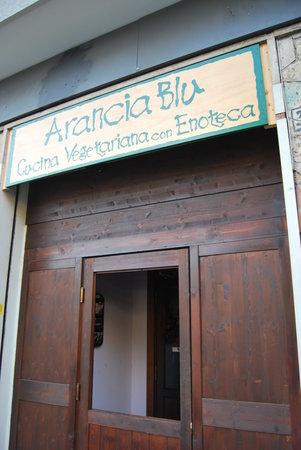 L'Arancia Blu : ingresso ristorante