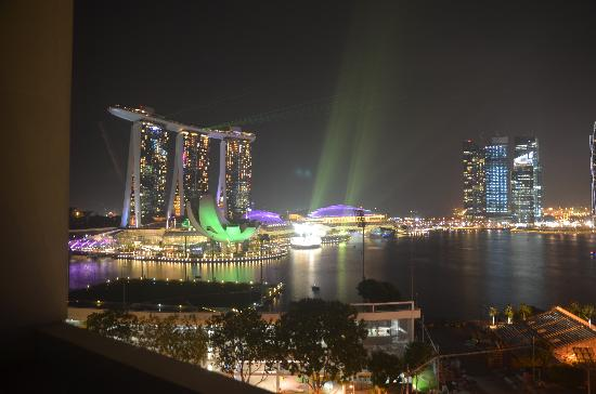 Mandarin Oriental, Singapore: light show