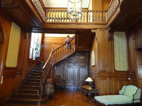 Villa le Goeland: le hall d'entrée