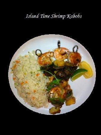 Dive In Marina Bar & Restaurant : Shrimp Kabob