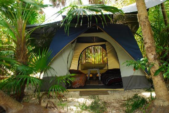 Cenote Encantado : DOBLE BED TENT READY TO USE